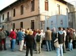 Gruppo partecipanti visita in via Tesso