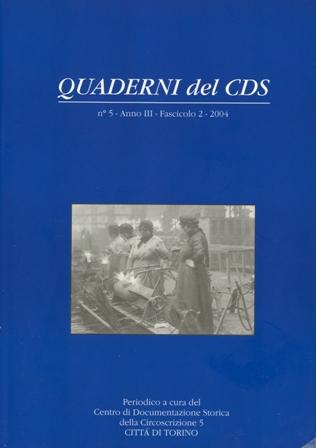 copertina Quaderni del CDS n. 5