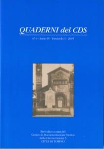 Copertina Quaderni CDS 6