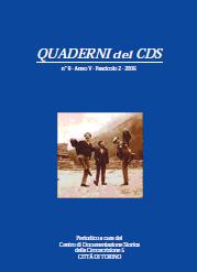 copertina Quaderni del CDS