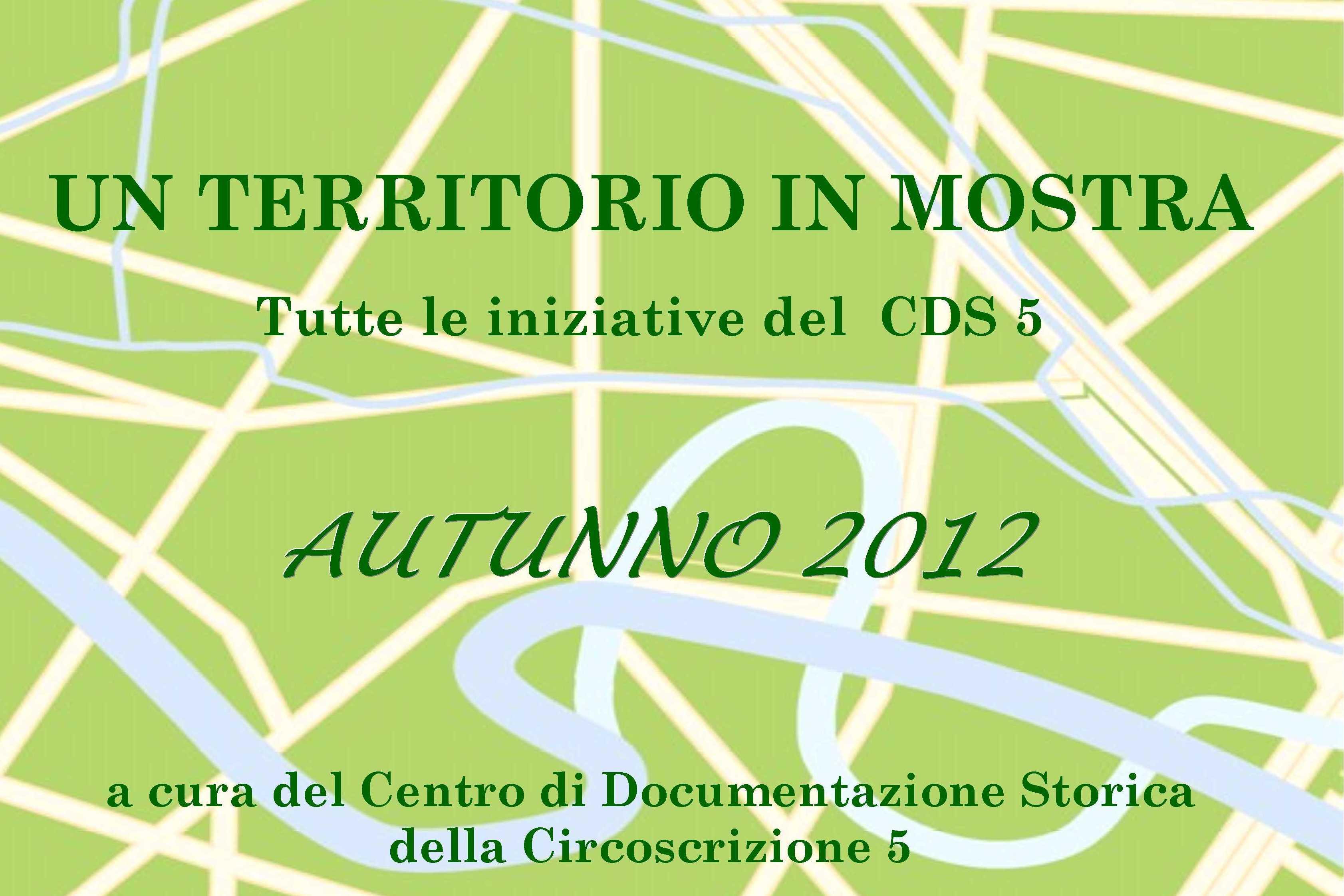 CDS Programma autunno 2012