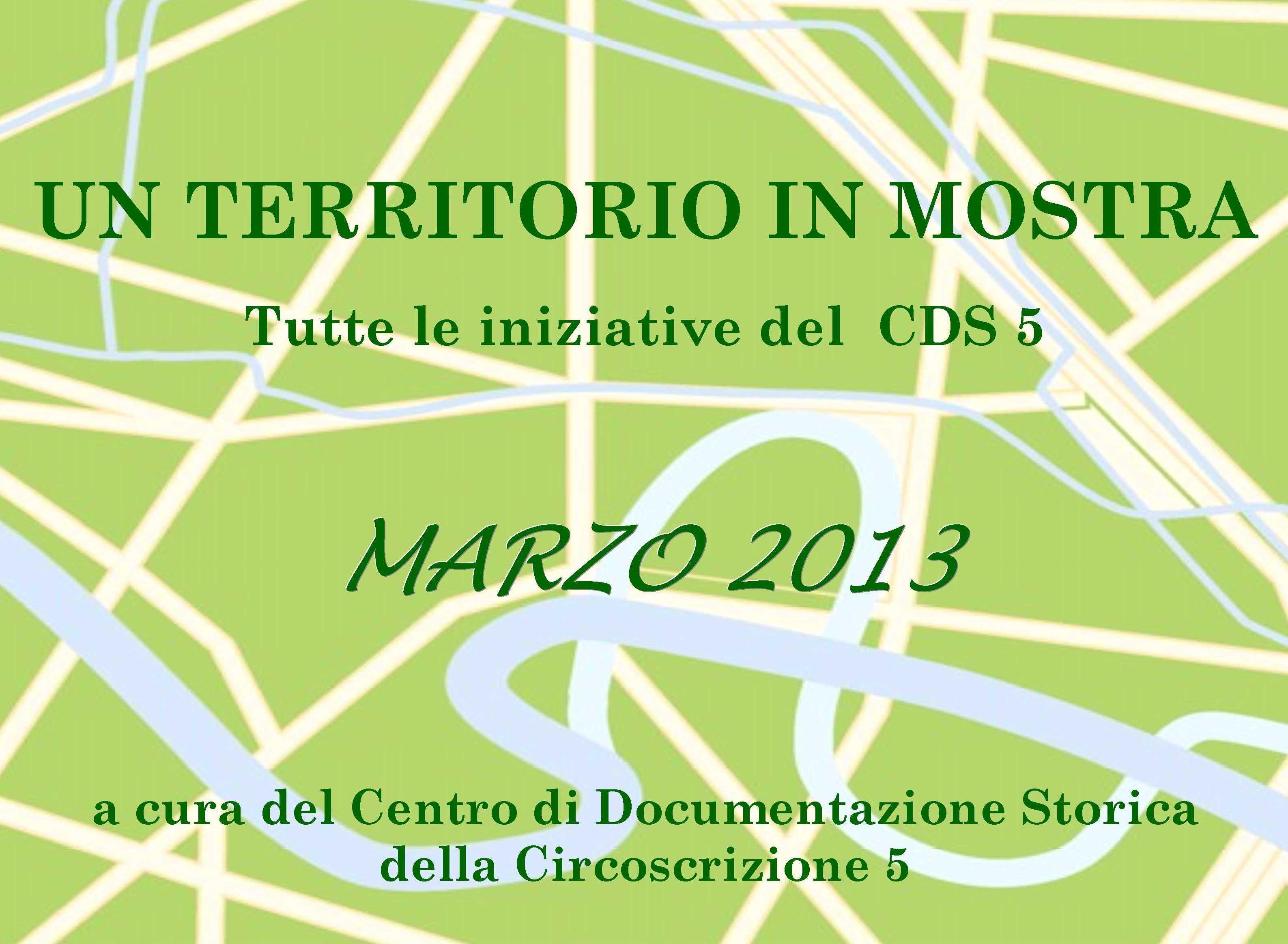 CDS Programma marzo 2013