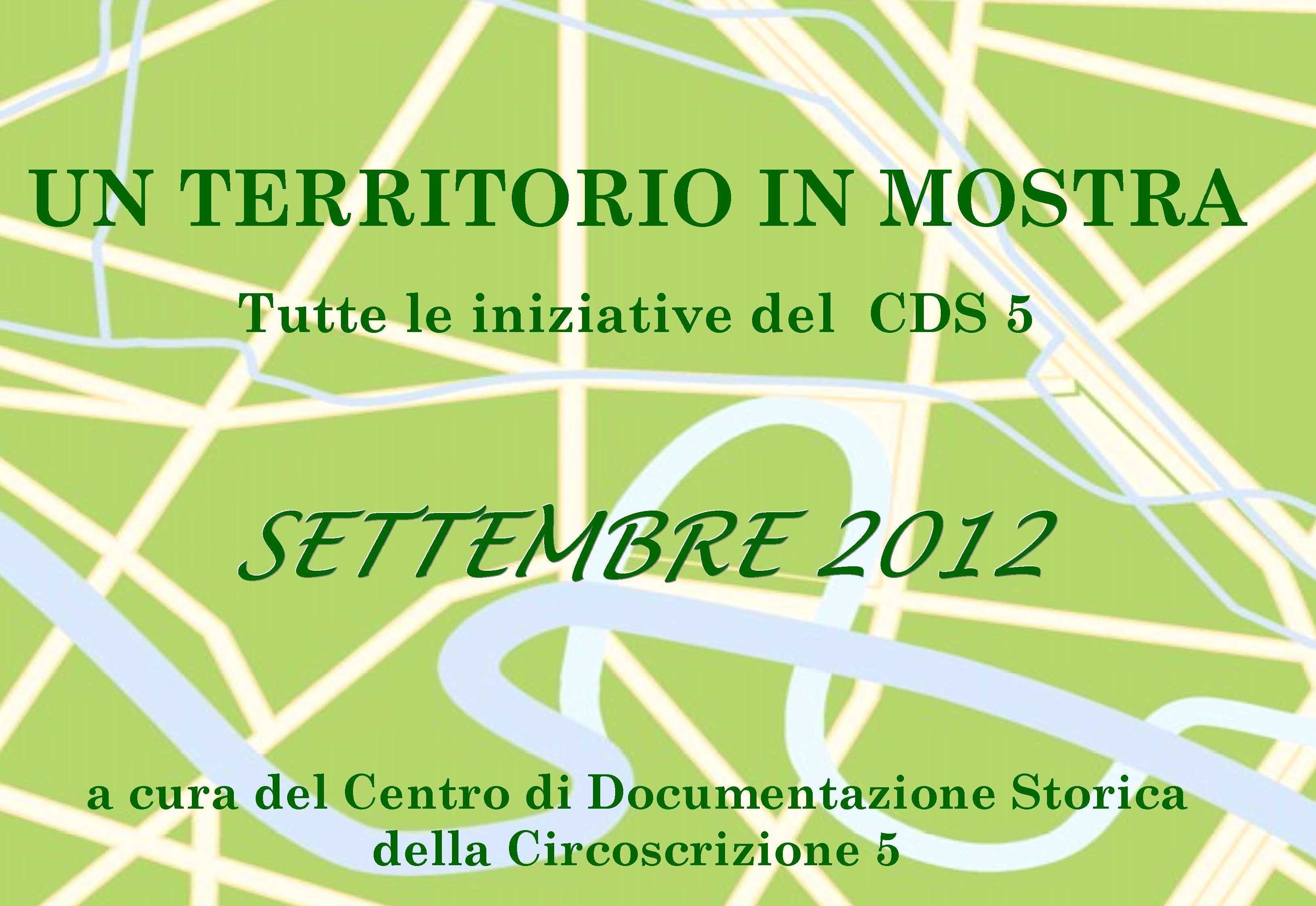 CDS Programma settembre 2012