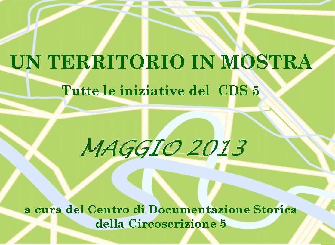 CDS Programma maggio 2013