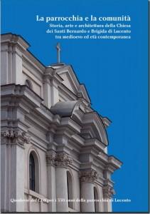 Copertina del libro del Centro di Documentazione Storica dedicato ai 550 anni della chiesa Lucento