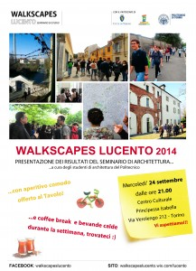 Locandina Walkscapes_Lucento in LucentoinFesta 2014