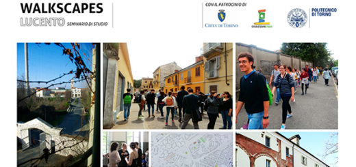 Locandina Walkscapes Lucento workshop 2014