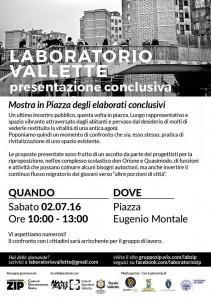 Laboratorio Vallette 02 luglio 2016