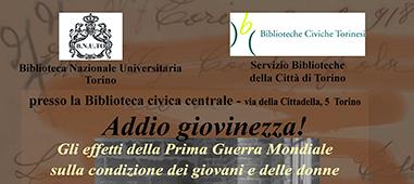 La mostra ADDIO GIOVINEZZA! alla Biblioteca Civica Centrale di Torino (8-23 giugno 2017)