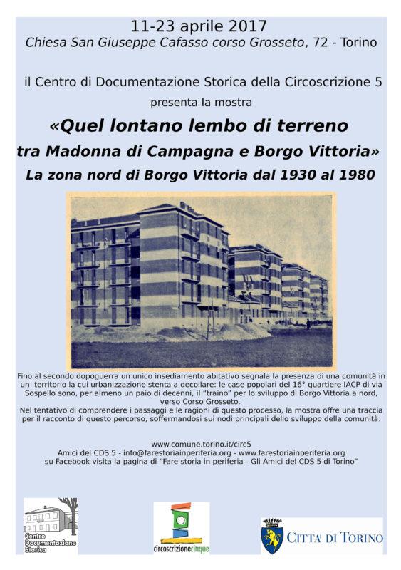 Mosta CDS Borgo Vittoria Nord Chiesa Cafasso aprile 2017