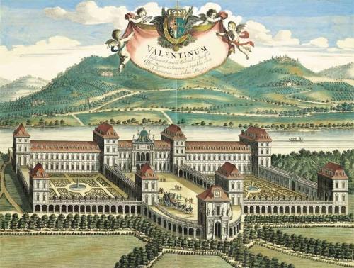 11 Castello del Valentino su disegno di Giovanni Tommaso Borgonio 1668