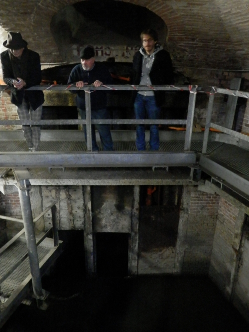 22 Interno Partitore delle acque del canale Ceronda (costruito tra il 1860 e il 1870)
