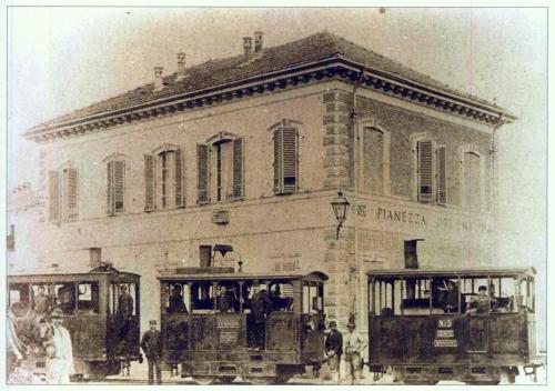 23 Tranvia Torino Pianezza/Druento. La Tranvia alla stazione di Pianezza