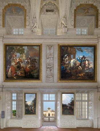 14 Sala di Diana o delle Cacce alla Reggia della Venaria Reale (vi fu attivo il plastificatore Carlo Casella)